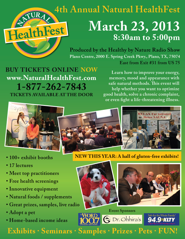 Natural HealthFest 2013 p1